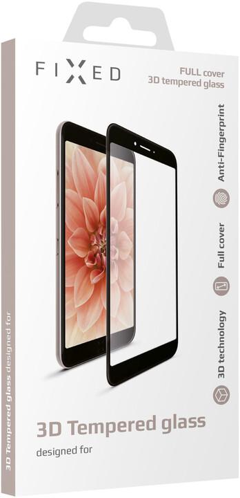 FIXED tvrzené sklo 3D Full-Cover pro Samsung Galaxy S10e, s lepením přes celý displej, černá