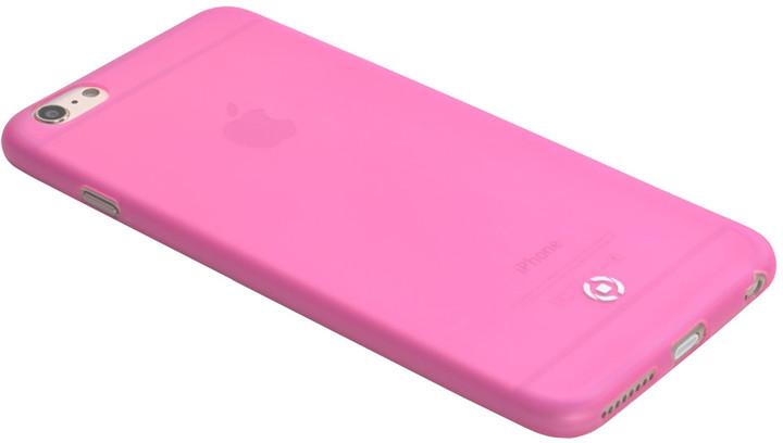 CELLY Frost pouzdro pro Apple iPhone 6/6S, 0,29 mm, růžová