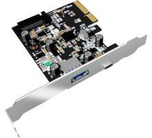 ICY BOX IB-U31-03, USB 3.1, 1x Type-C and 1x Type-A, PCI-E