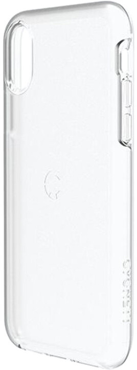 Cygnett iPhone X Slim Protective Case in Crystal
