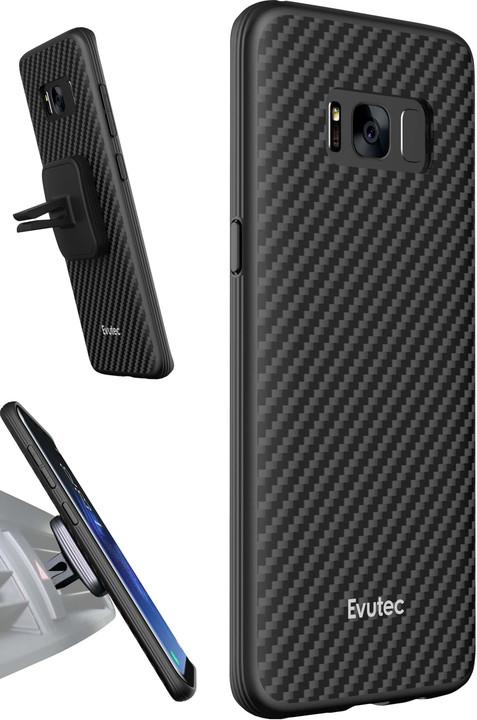 Evutec AER Karbon + AFIX vent mount pro Samsung Galaxy S8