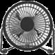 NEDIS mini ventilátor, stolní, USB, černá