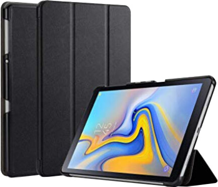 Tactical Book pouzdro Tri Fold pro Samsung T590 Galaxy TAB A 10.5, černá