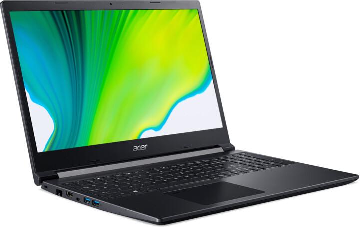 Acer Aspire 7 (A715-41G-R40P), černá