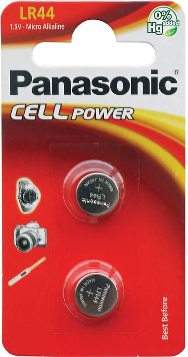 Panasonic baterie A76/LR44/V13GA 2BP Alk