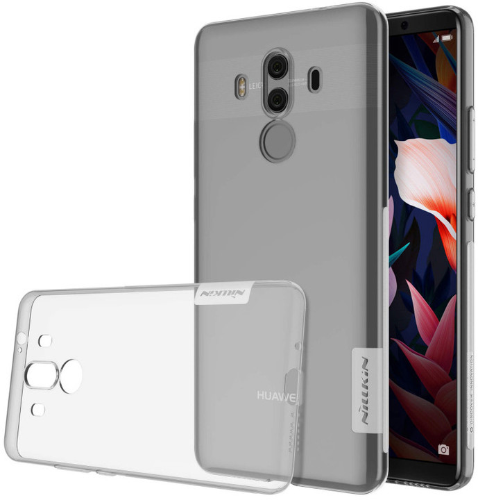 Nillkin Nature TPU pouzdro pro Huawei Mate 10 Lite - Transparent