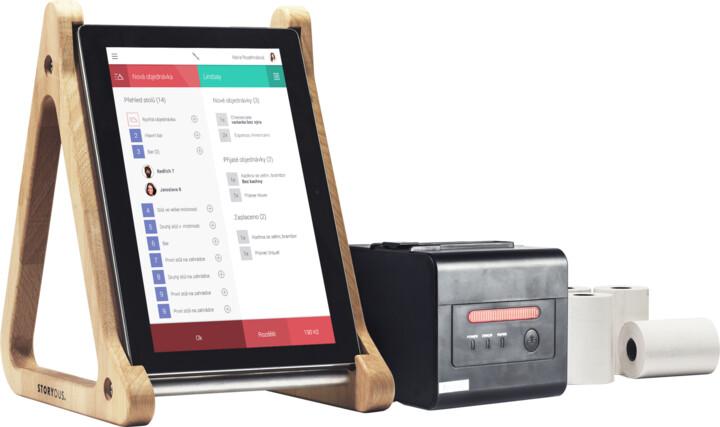 Storyous Premium LTE (Lenovo TAB2 A10-30 & Xprinter XP-C260-N)