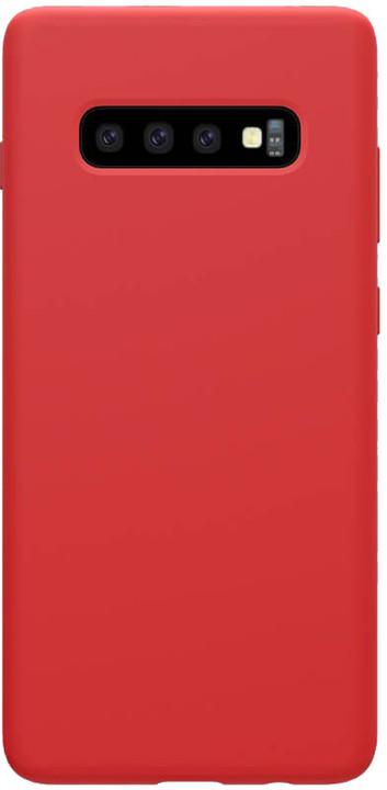 Nillkin Flex Pure Liquid silikonové pouzdro pro Samsung Galaxy S10, červená