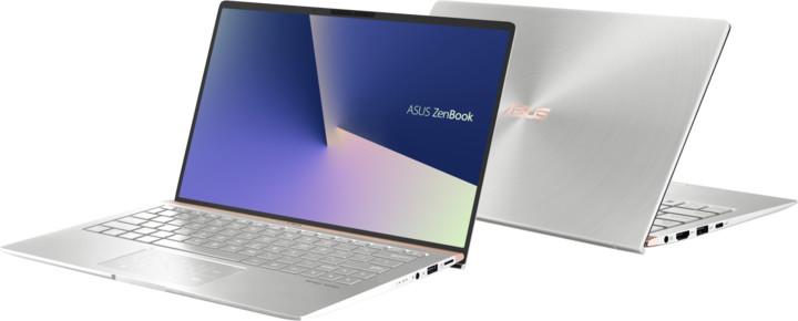 ASUS ZenBook 13 UX333FA, stříbrná