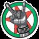 Odznak Cyberpunk - Silverhand Emblem