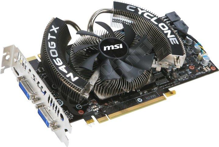 MSI N460GTX Cyclone 768D5/OC, PCI-E