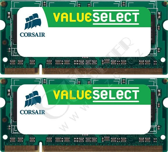 Corsair Value 4GB (2x2GB) DDR2 800 SO-DIMM