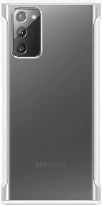 Samsung ochranný kryt Clear Cover pro Samsung Galaxy Note20, bílá