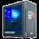 HAL3000 Mega Gamer MČR Elite 70S, černá  + Intel Big Boss Battle pack - balíček her, aplikací a kreditu do her v hodnotě přes 3 500,- Kč + O2 TV s balíčky HBO a Sport Pack na 2 měsíce (max. 1x na objednávku)