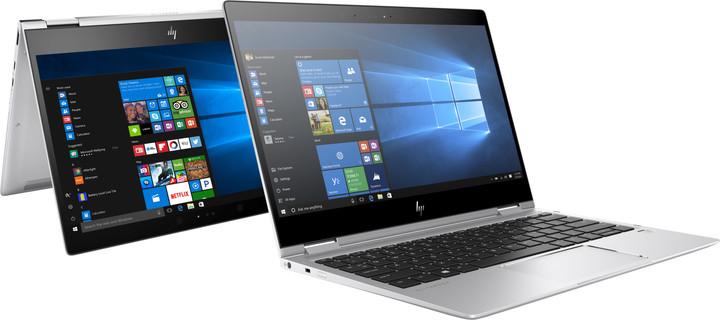 HP EliteBook x360 1020 G2, stříbrná