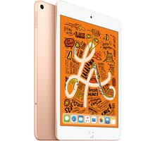 Apple iPad Mini, 64GB, Wi-Fi + Cellular, zlatá, 2019 - MUX72FD/A