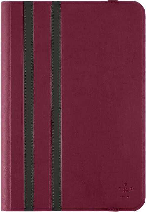 Belkin iPad mini 4/3/2 pouzdro Twin Stripe, červená