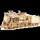 Stavebnice RoboTime Parní lokomotiva, dřevěná