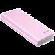 ROMOSS sense 6 LED, 20000mAh, růžová