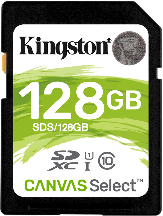 Kingston SDXC Canvas Select 128GB 80MB/s UHS-I