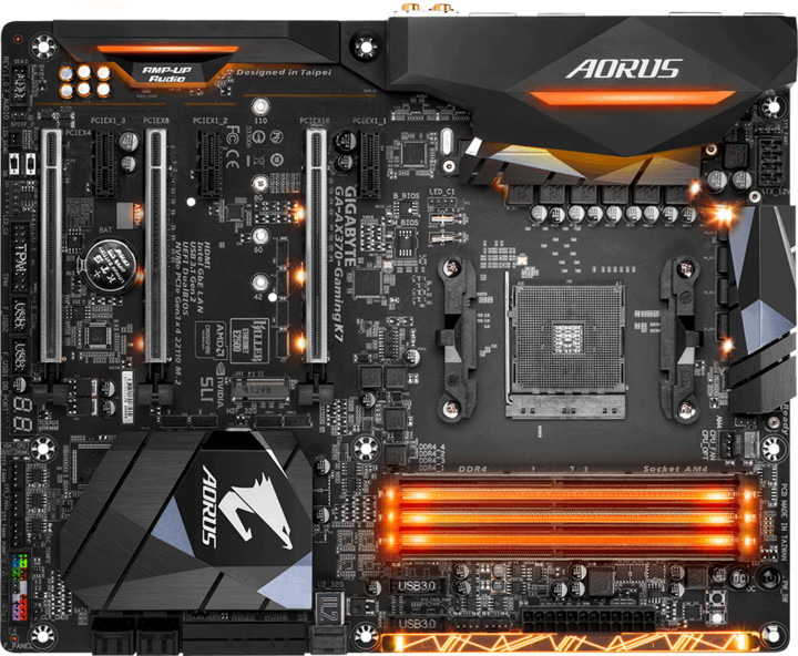 GIGABYTE AM4 AX370-Gaming K7 - AMD X370