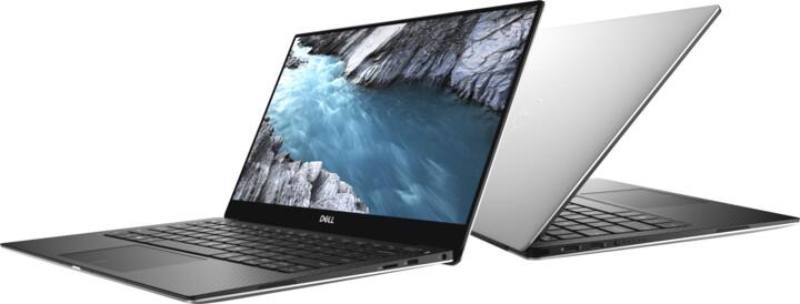 Dell XPS 13 (9370), stříbrná