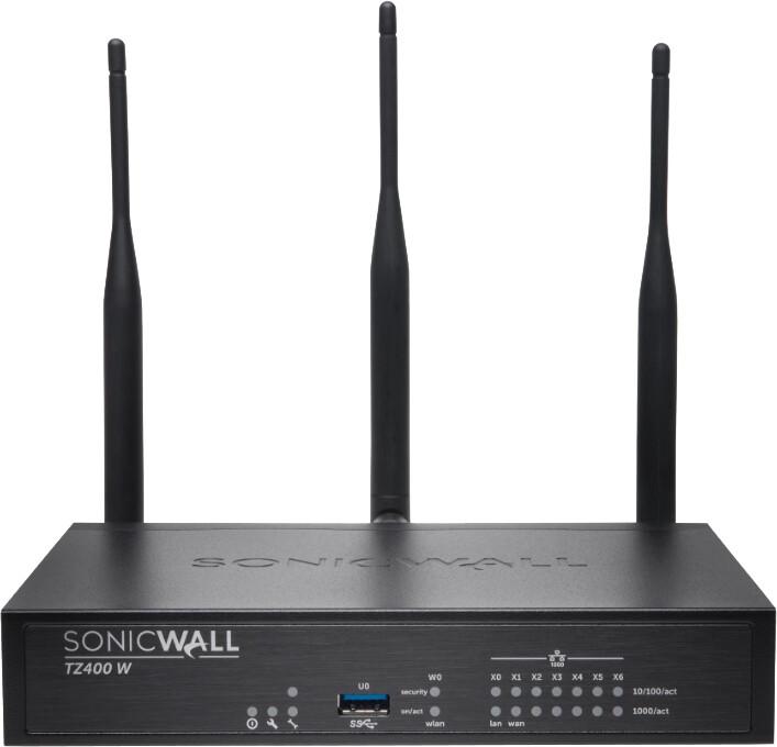 SonicWall TZ400 Wi-Fi, Dual-band, Total Secure na 1 rok