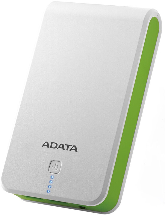 ADATA P16750 Power Bank 16750mAh, bílo/zelená