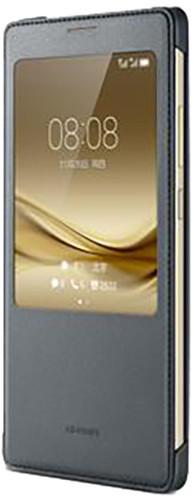 Huawei Original S-View Pouzdro Dark Grey pro Mate 8 (EU Blister)