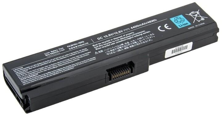 AVACOM baterie pro notebook Toshiba Satellite L750, Li-Ion, 10.8V, 4400mAh
