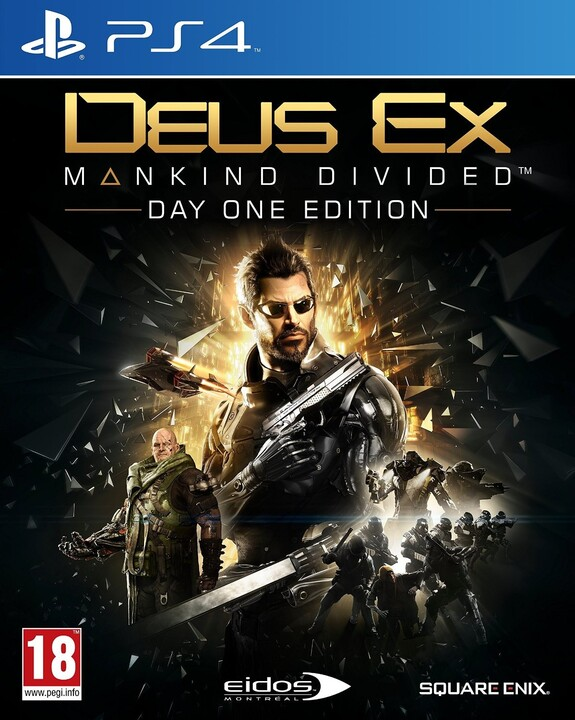 Deus Ex: Mankind Divided - Day One Edition (PS4)