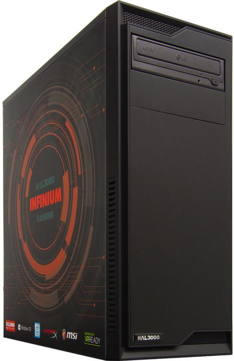 HAL3000 Infinium /i5-6400/16GB/120GB SSD + 1TB/NV GTX1060/W10H