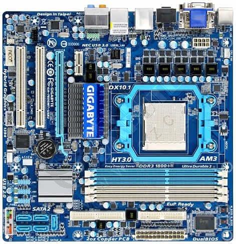 Gigabyte GA-785GMT-USB3 - AMD 785G