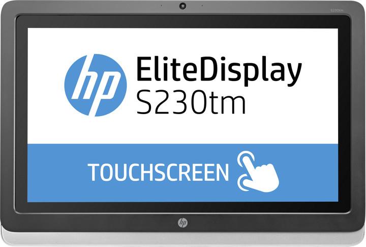 "HP EliteDisplay S230tm - LED monitor 23"""
