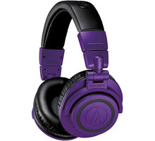 Audio-Technica ATH-M50xBTPB, fialová