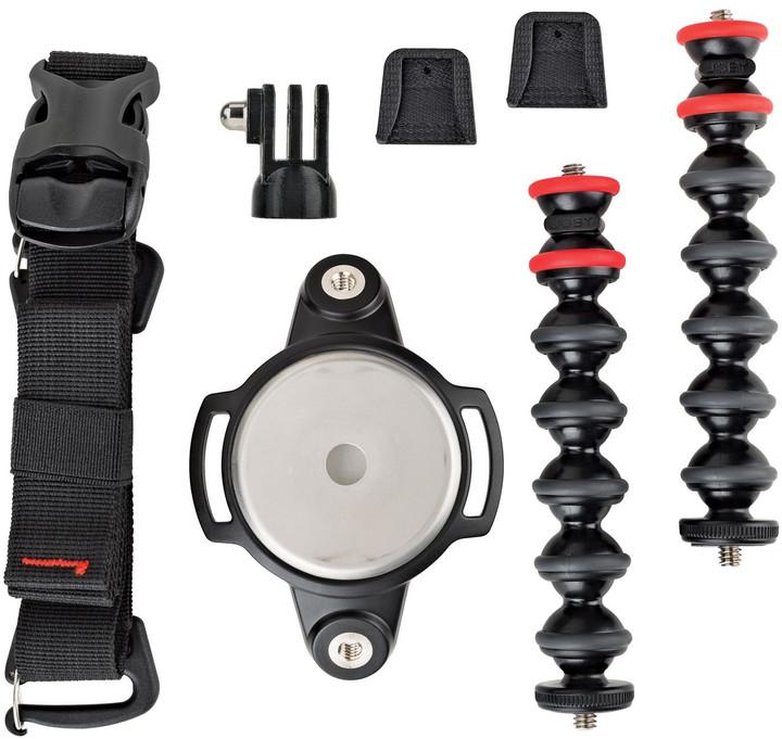 JOBY GorillaPod Rig Upgrade, černá/červená