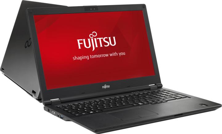 Fujitsu Lifebook E458, černá