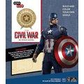 Stavebnice Marvel - Štít Kapitána Ameriky (dřevěná)