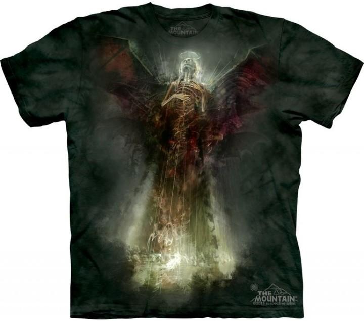 Tričko The Mountain Death Angel, zelená (US S / EU S-M)