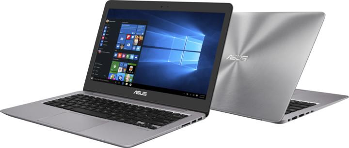 ASUS ZenBook UX310UA, šedá