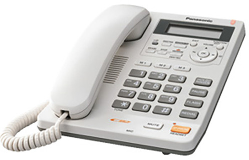 Panasonic KX-TS620FXW, bílá