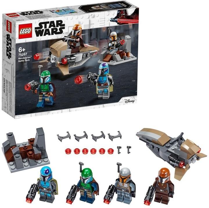 LEGO® Star Wars™ 75267 Bitevní balíček Mandalorianů
