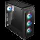 Fortron CMT520 Plus, 4xARGB, okno, černá