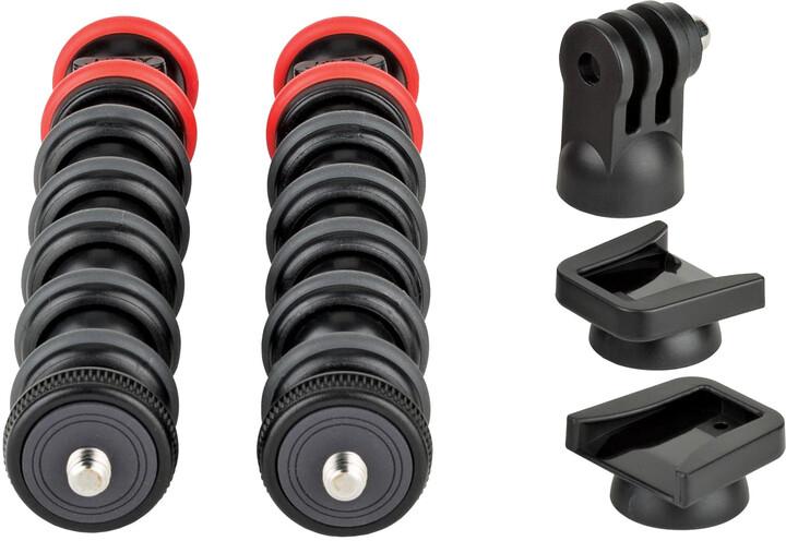 JOBY GorillaPod Arm Kit, černá/červená
