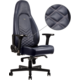 Noblechairs ICON Real Leather, tmavě modrá/šedá