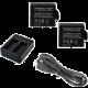 Rollei externí nabíječka pro kamery 510/610/525/625 + 2x baterie
