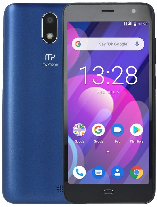 myPhone Fun 7 LTE, 2GB/16GB, Blue