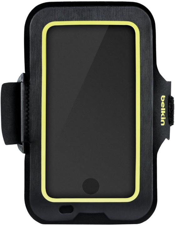 Belkin sportovní pouzdro SportFit Plus - iPhone 8+/7+/6+/6s+, černožluté