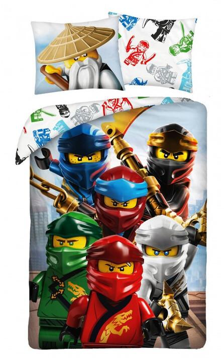 Povlečení Lego - Ninjago Ninjas