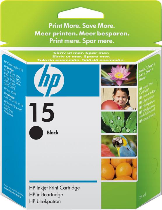 HP C6615D, no.15, černá